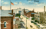 East Sixth Street (Cleveland Sixth City), New City Hall, Central Armory, Goodrich House